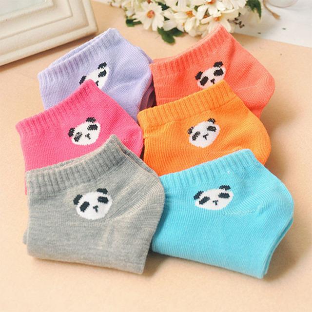 Damskie skarpetki z pandą