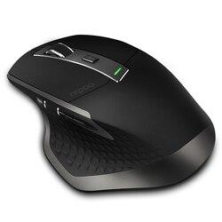 Rapoo MT750 Đa Chế Độ Không Dây Bluetooth 3.0/4.0 Và 2.4G Công Tắc Cho 4 Thiết Bị Kết Nối Máy Tính chuột Chơi Game