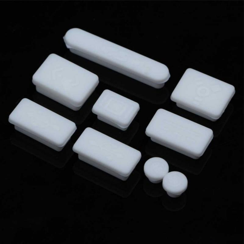 Mobile Phone Accessories 12pcs Colorful Soft Silicone Dust Plug For Macbook Air 13 11 Retina Ports Laptop Rubber Anti-dust Plug Dustproof Cover Stopper