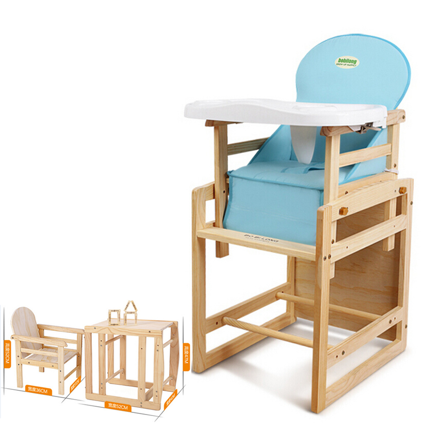 multifunctional table and chair for kids baby feeding seat chair wood infant baby dinning. Black Bedroom Furniture Sets. Home Design Ideas