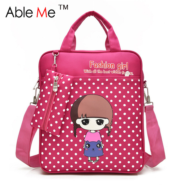 Dot Printing Fashion Kids Student Tote Bags Boys And Girls Backpack  Tutorial Book Art School Bags 0ee798959e664
