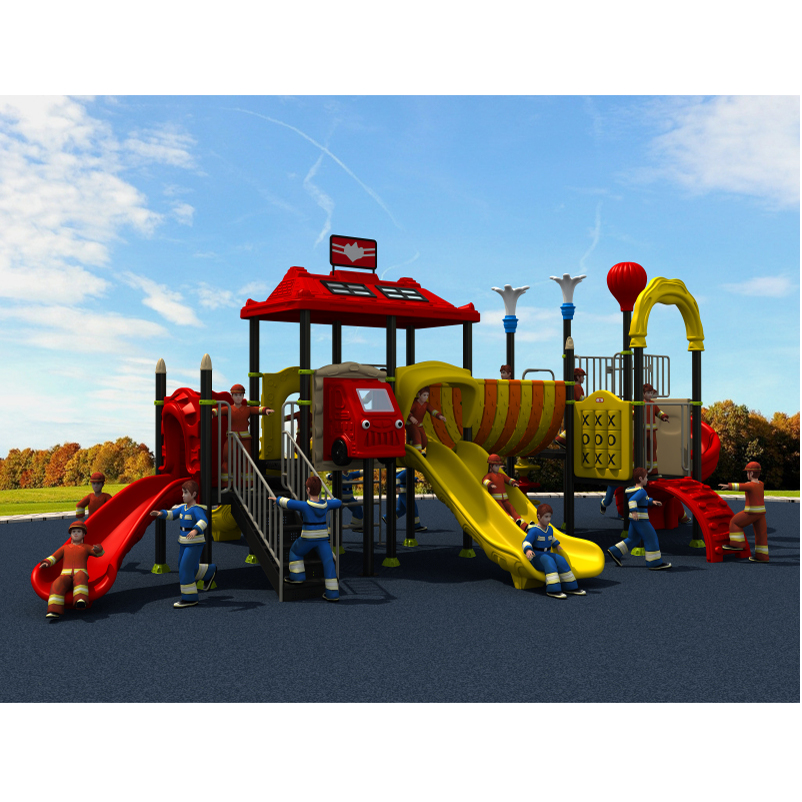fireman amusement playground slide,outdoor playground park YLW-OUT1665fireman amusement playground slide,outdoor playground park YLW-OUT1665