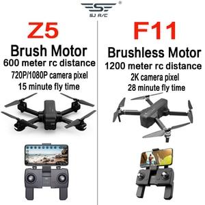 Image 4 - Otpro Mini Drone Wifi Fpv Met 4K 1080P Camera 3 Axis Gimbal Gps Rc Racing Drone Quadcopter rtf Met Zender Z5 F11 Pro Dron
