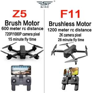 Image 4 - Otpro ミニドローン wifi fpv 4 18k 1080 で 1080p カメラ 3 軸 gps rc ドローン quadcopter rtf トランスミッタ Z5 F11 プロ dron