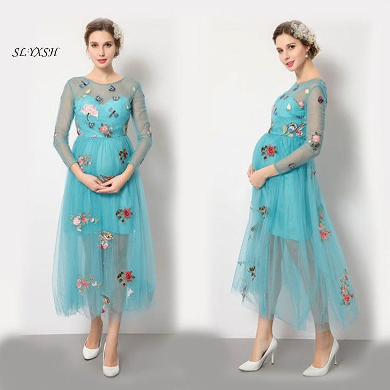 2018 new style maternity clothes robe grossesse summer maternity dress for photo shoots party ropa premama pregnancy clothes2018 new style maternity clothes robe grossesse summer maternity dress for photo shoots party ropa premama pregnancy clothes