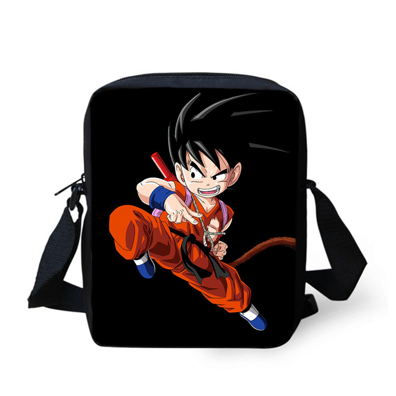 Messenger-Bags Dragon-Ball-Bags School Students Anime Girls Casual for Gift Boys Son-Goku