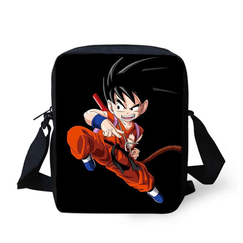 2019 Casual Messenger Taschen Anime Dragon Ball Taschen Sohn Goku Umhängetaschen Für Studenten Schule Geschenk Jungen Mädchen Studie Schulter Tasche