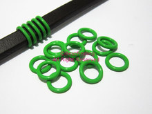 12mm Green Licorice silicone o rings leather rubber stopper sealing rings