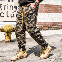Men Camouflage Military Cargo Pants plus size 42 44 46 Men Hip Hop Streetwear pants Fashions Harlan Trouers Autumn mens pants