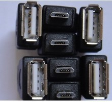 5 шт./лот Бесплатная доставка MICRO 5 P к USB женский OTG кабель преобразования голову для Таблеток