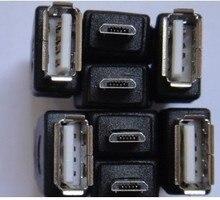5 шт./лот MICRO 5 P к USB женский OTG кабель преобразования голову для Таблеток
