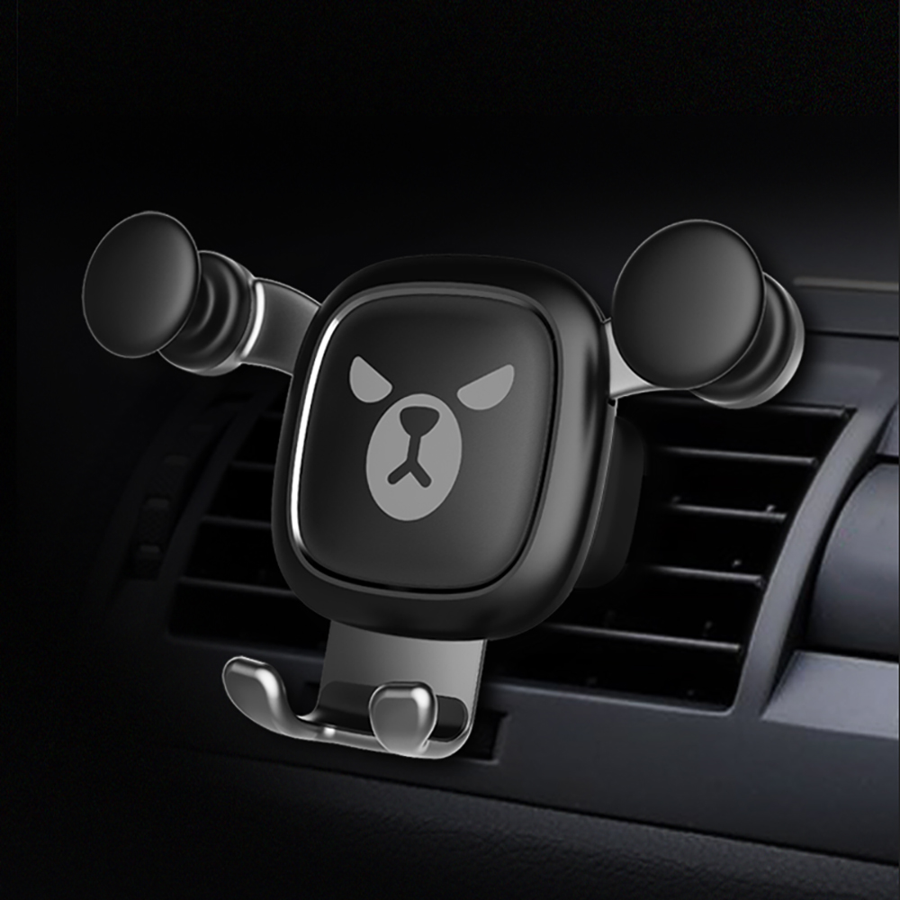 Bear <font><b>Car</b></font> <font><b>Phone</b></font> Holder Bracket Gravity Auto Air Vent Mount Clip Fashion <font><b>Mobile</b></font> <font><b>Phone</b></font> Stand Smartphone Support <font><b>Accessories</b></font> Gifts image