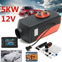 12V 5000W LCD Monitor Single Hole Air Diesels Fuel Heater 5KW For Trucks Boats Bus Car