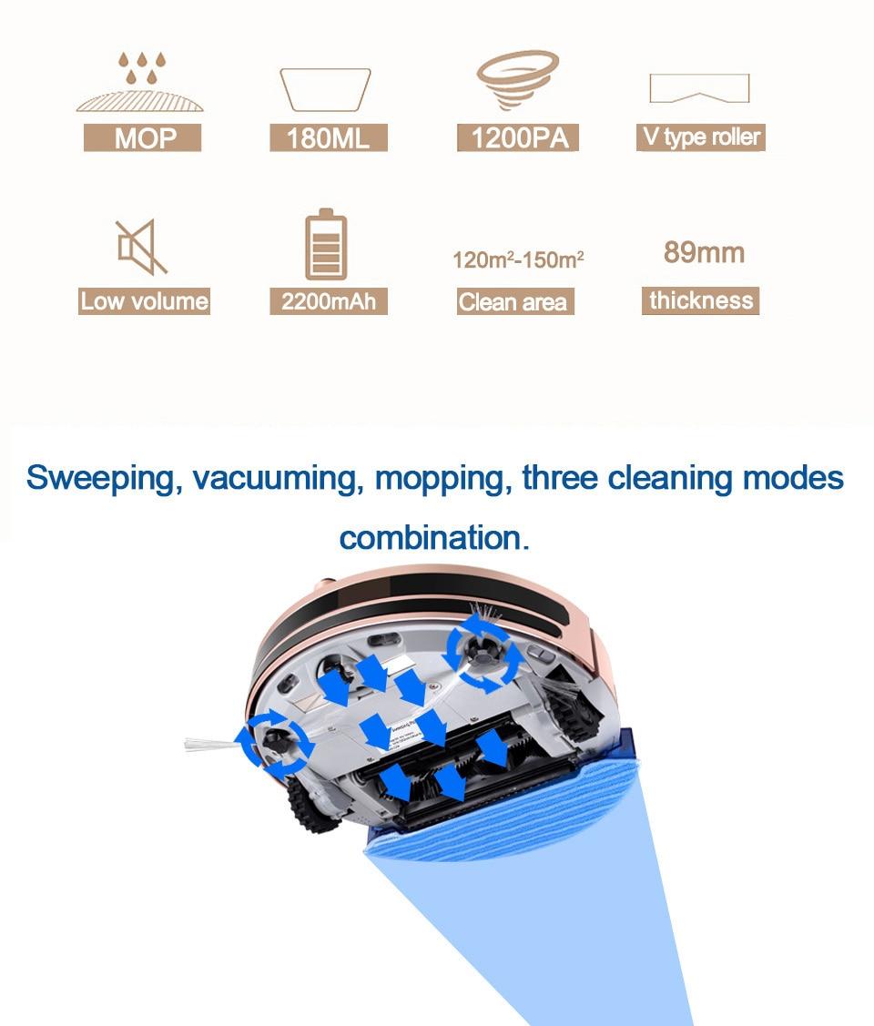 pó robótico molhado e seco carga automática