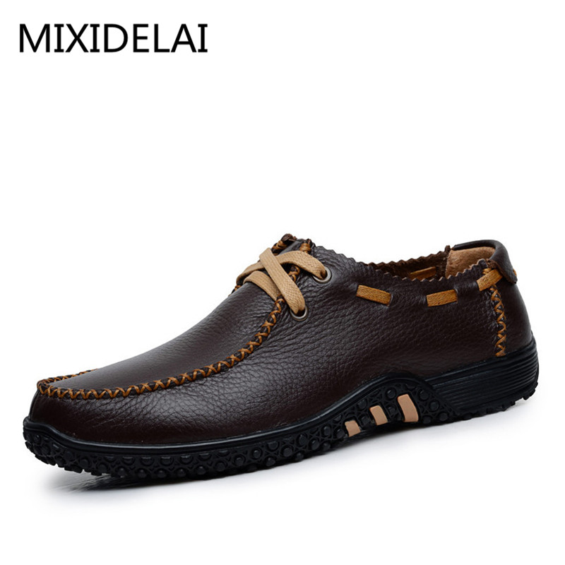 Brand Size 38-47 Fashion Handmade Brand Genuine leather men Flats,Soft leather men Male Moccasins,High Quality Men Shoes ключ гаечный комбинированный 25х25 santool 031604 025 025 25 мм