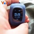 Vwar OLED Inteligente Seguro Crianças GPS Assistir SOS Chamada de Pulso Monitor de Localizador Localizador Rastreador Criança Anti Bebê Perdido SeTracker Q50