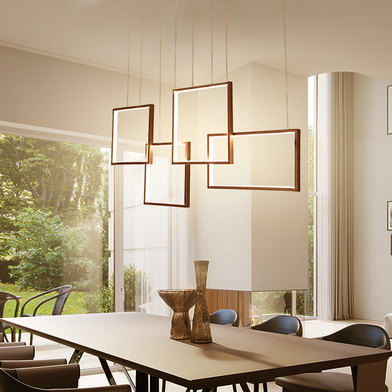 Modern led Chandelier for Kitchen Dining Room Living Room Suspension luminaire Hanging White Black Bedroom Chandeliers Fixtures modern creative wooden led chandeliers lamp for living room dining room led hanging white black chandelier lighting luminaire