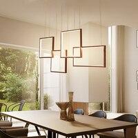 Moderne led Kronleuchter für Küche Esszimmer Wohnzimmer Suspension leuchte Hängen Weiß Schwarz Schlafzimmer Kronleuchter Leuchten-in Kronleuchter aus Licht & Beleuchtung bei