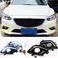 2x белые светодиодные дневные ходовые огни Дневные Противотуманные фары DRL для Mazda Atenza 2014-2016