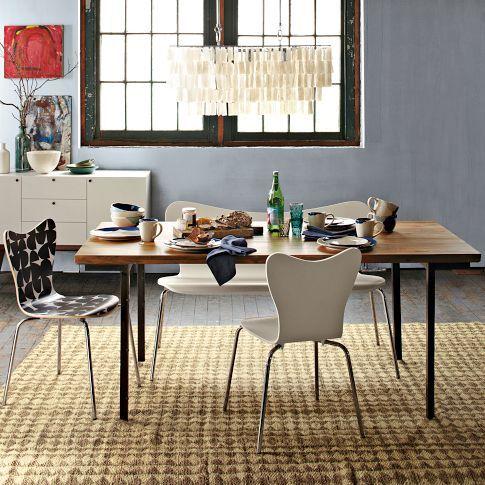 amerikaanse land houten eettafel retro keuken tafel kleine