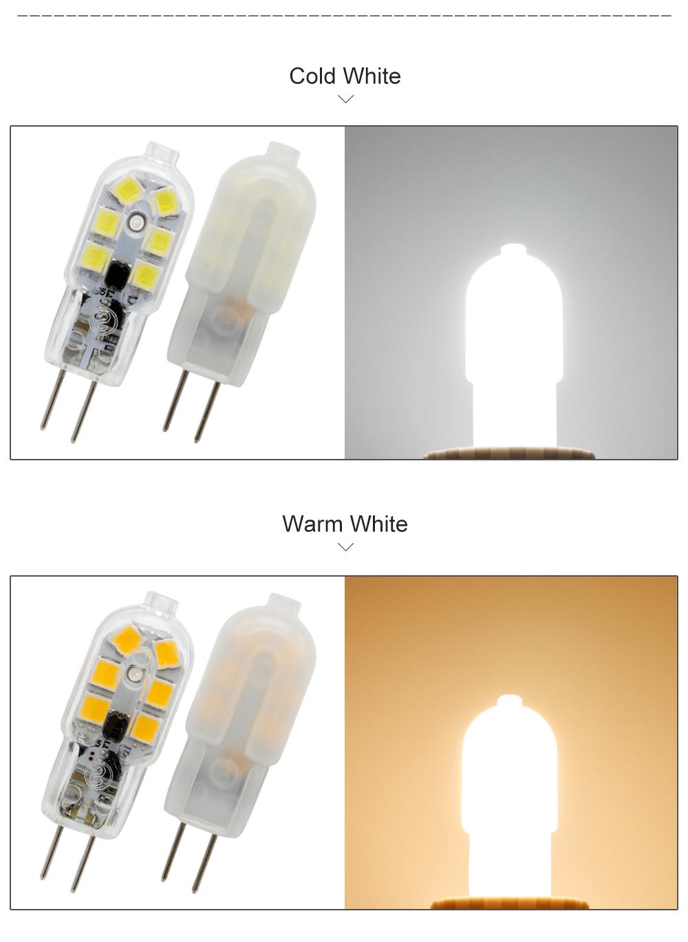 10 шт./лот 3 вт SMD 2835 из светодиодов 12 В G4 светодиодные лампы переменного тока 12 в лампочки заменить 20 вт 30 вт галогенная лампа для люстры теплый холодный белый