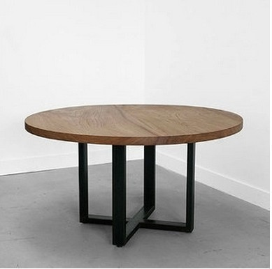 Small Round Coffee Table American Country Ironwood Indoor Retro Antique  Wooden Coffee Table Dining Table Round