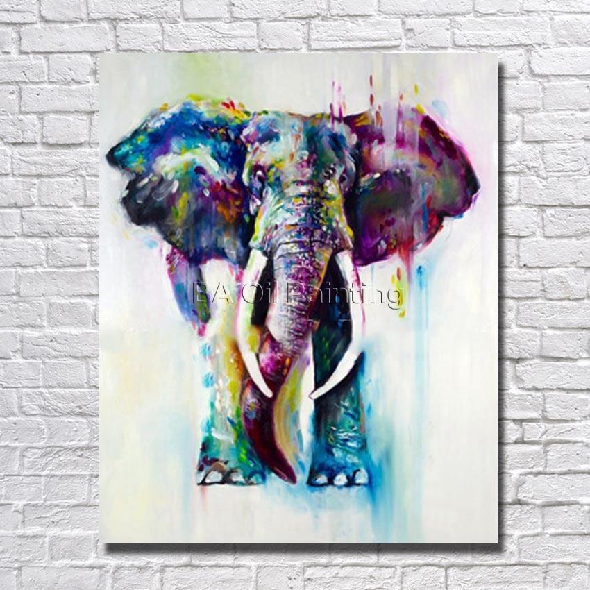 Popular Elephants Paintings-Buy Cheap Elephants Paintings