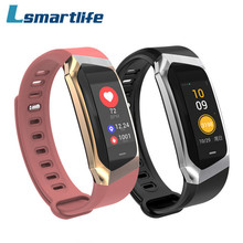 E18 Smart Wrist Band Heart Rate Blood Pressure Monitor Sport Bracelet Fitness Watch Intelligent For iOS Android Men Women