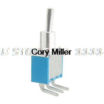 цена на 20pcs AC 250V 2A on-on 2 Way SPDT Solder 3 Terminals PCB Mount Toggle Switch