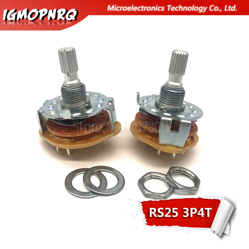 1P4T 1P8T 1P11T 2P5T 2P6T 3P4T 4P3T 1 2 Deck Band Channel Rotary Switch Selector