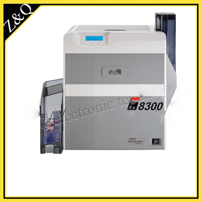 EDI XID8300 Dual-Sided retransfer id card printer with one DIC10216 and one DIC10319