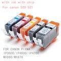 5 шт. PGI 520BK CLI 521 BK C M Y 5 цветов чернила картридж для canon PIXMA IP3600 / IP4600 / IP4700 MX860 / MX870 принтеры