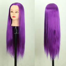 Purple Professional Styling Head ,Wig Head Stand Women Makeup Hairdressing Dummy Doll Training Head , Hair Mannequin Head purple professional styling head wig head stand women makeup hairdressing dummy doll training head hair mannequin head