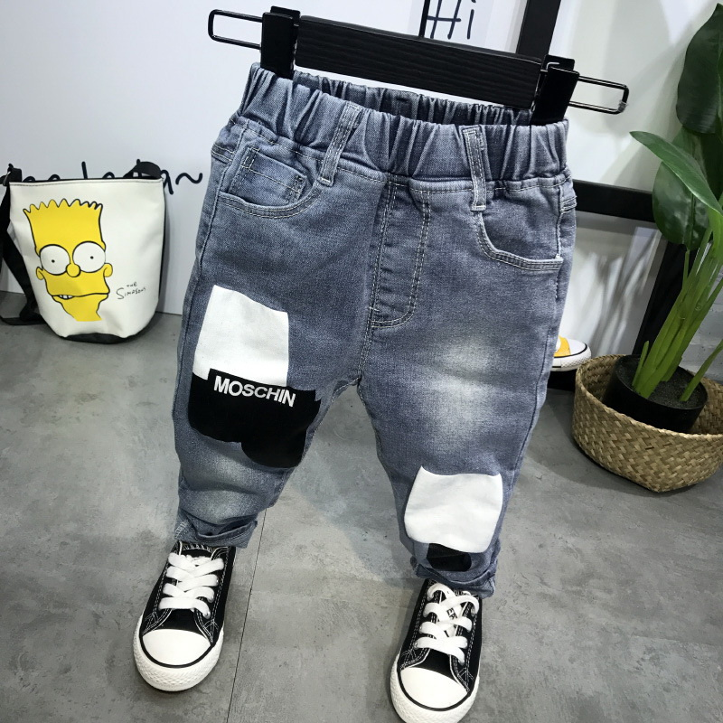 High Quality Spring Kids Pants Baby Boys Jeans Children Jeans For Boys Casual Denim Pants 2-6Years Toddler Clothing