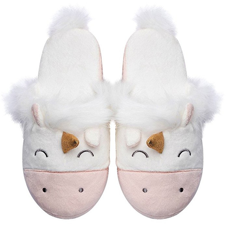 6c2c632ba400e women slippers unicorn slippers for girls & boys animals winter home ...