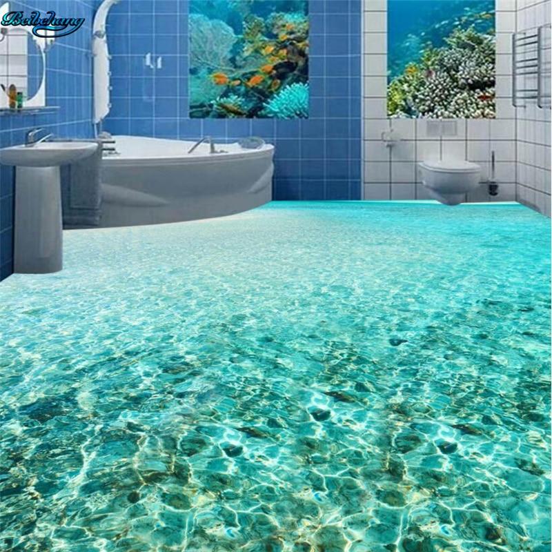 Beibehang 3d Badezimmer dekoration meer