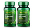 Free shipping High Potency selenium 200 mcg 100 tablets 2 bottles