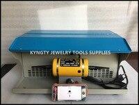 Goldsmith Polishing motor with Dust Collector,mini bench lathe,jewelry table polisher,jewelry polishing machine
