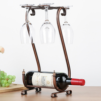 Glass Holder Bear Red Wine Glass Rack Hanging Red Wine Rack Shelf Wine Bottle Shelf Holder Creative Home Decor