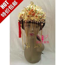 Costume hair accessory exquisite chinese style show clothing cheongsam pratensis hanfu bride hair accessory hair tiaras