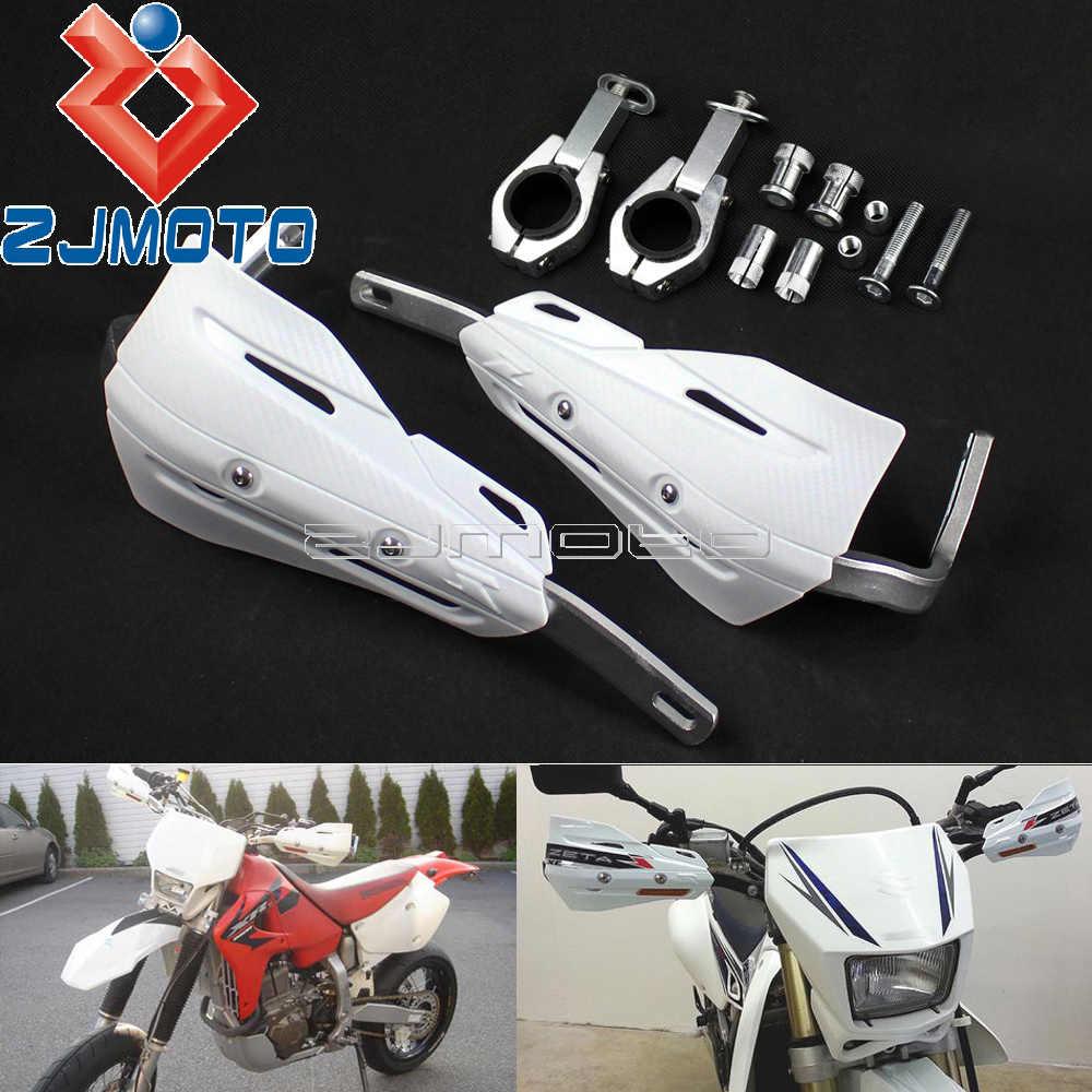 "Bianco 1-1/8 ""Manubrio Paramani Dirt Bike Mx Paramani per Xr Crf Wr Drz 28.6 Millimetri Pennello bar Armatura Del Motociclo Paramani"