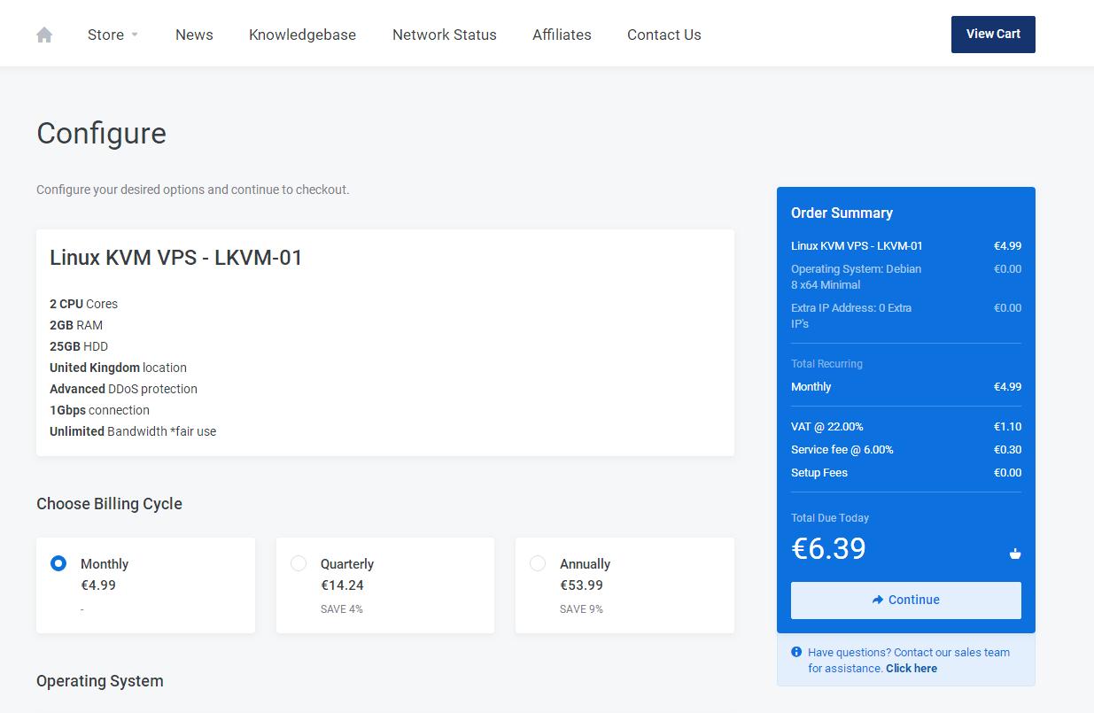 羊毛党之家 电信可以-SonicFast:€4.99/月/2GB内存/25GB NVMe空间/不限流量/1Gbps/DDOS/KVM/英国Zare https://yangmaodang.org