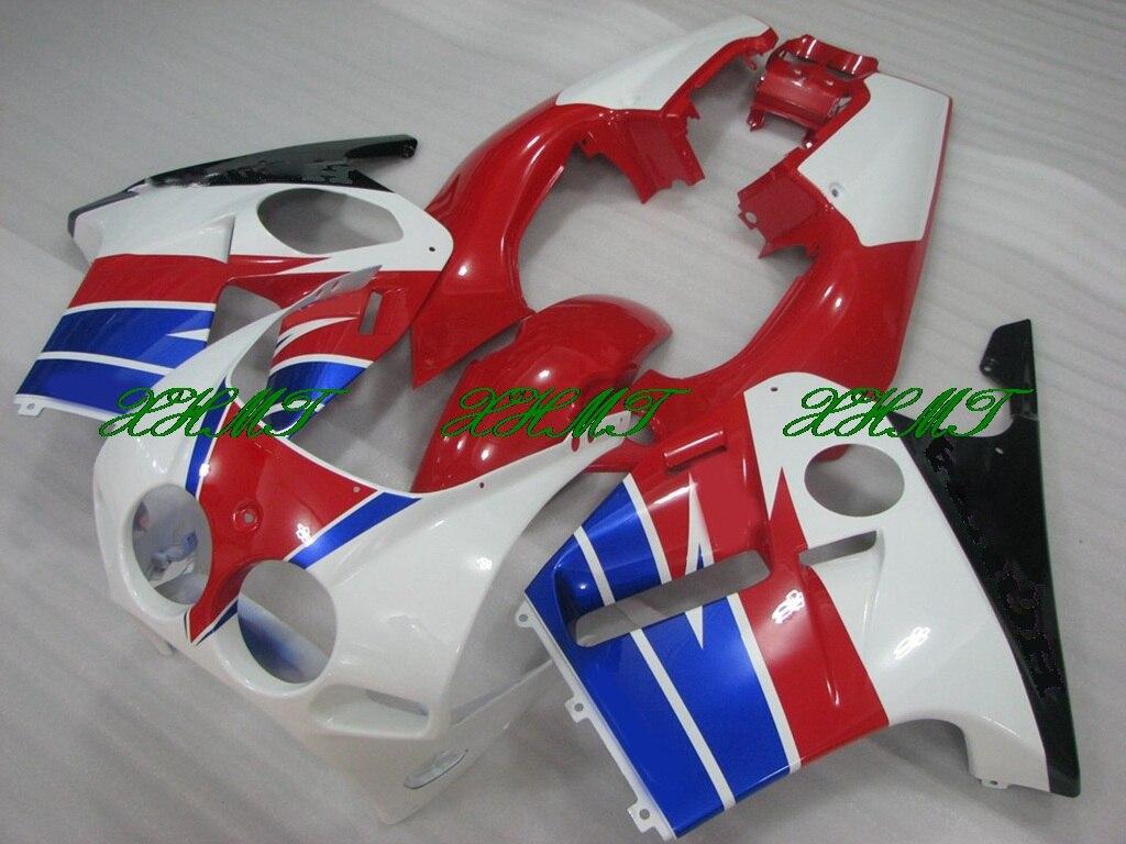 для Honda Cbr250rr CBR250 рублей 88 обтекатель комплекты кузова 89 ЦБ РФ 250 рублей 1989 Обтекателя 1988 - 1989