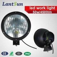 9 Inch 50 W Led Work Light Spot Beam 10 Degree DC 12v 24v For Jeep