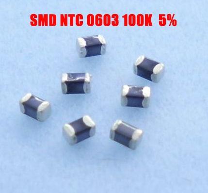 US $53 73 10% OFF|Aliexpress com : Buy Free shipping 4000pcs/lot B3435 SMD  thermistor ntc 0603 100K 5% ntc temperature sensor 100K NTC 3435 from