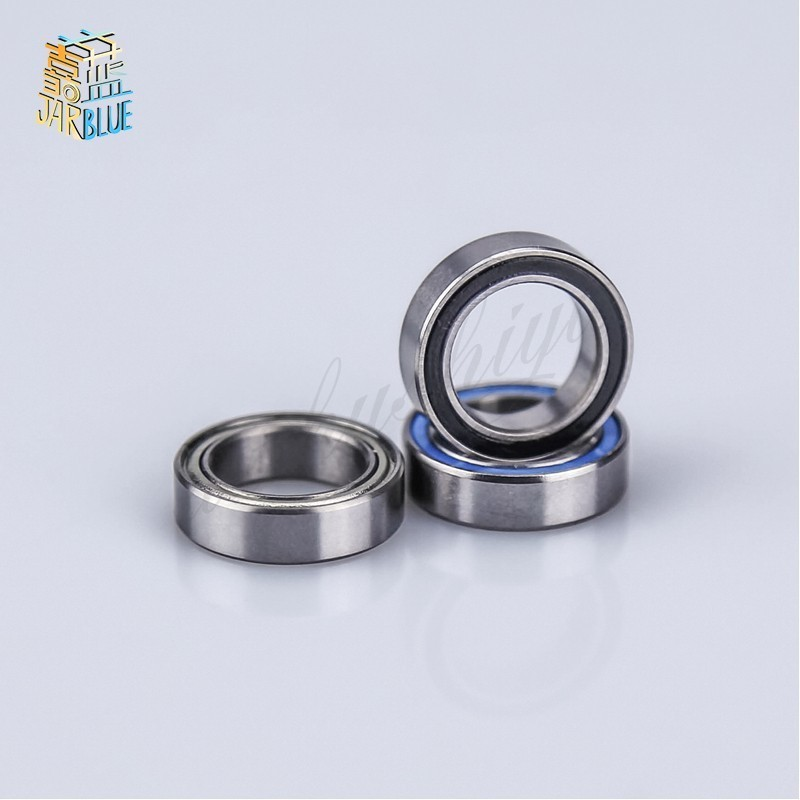 10PCS 6700RS Bearing ABEC-3 Thin Section 6700-2RS Ball Bearings 61700 RS 6700 2RS With Orange Sealed 10x15x4 Mm