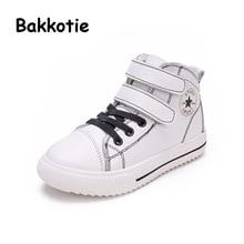 Bakkotie 2017 New Spring Fashion Girl Trainer White Child Casual Mesh Sport Shoe Baby Boy Leisure Sneaker Kid Brand Breathable