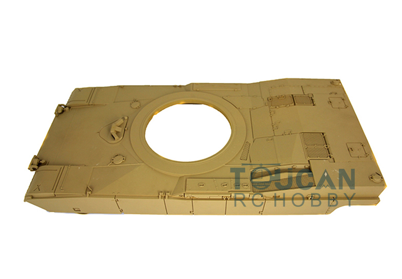 HengLong 1/16 Plastic Upper Hull For Abrams M1A2 3918 without Rotation Gearbox радиоуправляемый танк pilotage m1a2 abrams