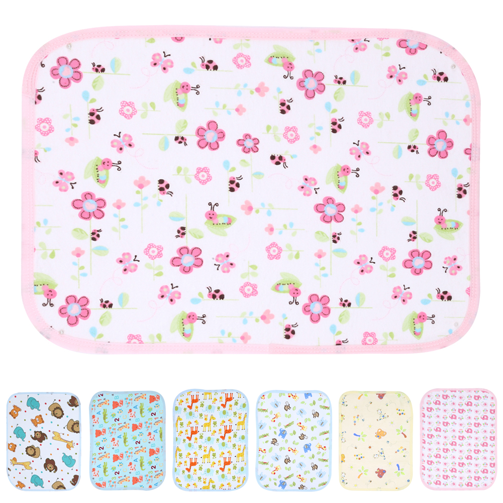 Baby Reusable Nappy Kids Diapers Mattress Waterproof Sheet Changing Mat Cotton Baby Crib Stroller Pram Bed Baby Stroller Pram