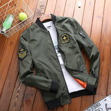 845ba59a79820 AFS JEEP Brand-clothing Mens Spring Autumn Jacket and Coat Military Style  Bomber Flight Jackets 95